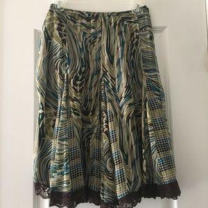 Sunny Leigh Silk Skirt